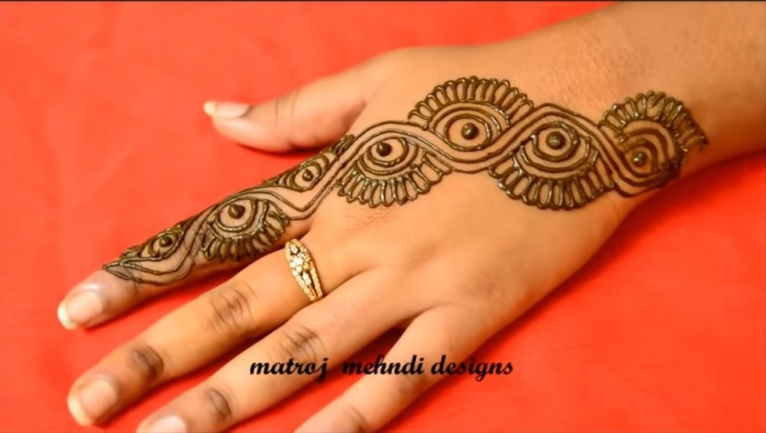 Latest Easy Mehndi Designs For Hands Simple Craft Ideas