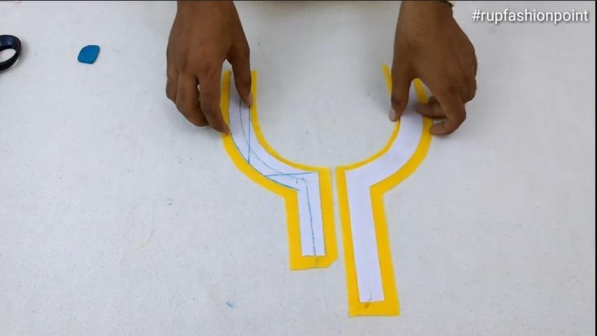 Piping latkan neck design