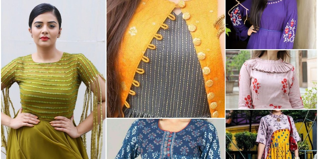 9c21bd178ea Latest designer kurtis for women in fashion 2018 - Simple Craft Ideas