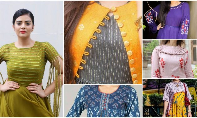 Latest designer kurtis for women in fashion 2018