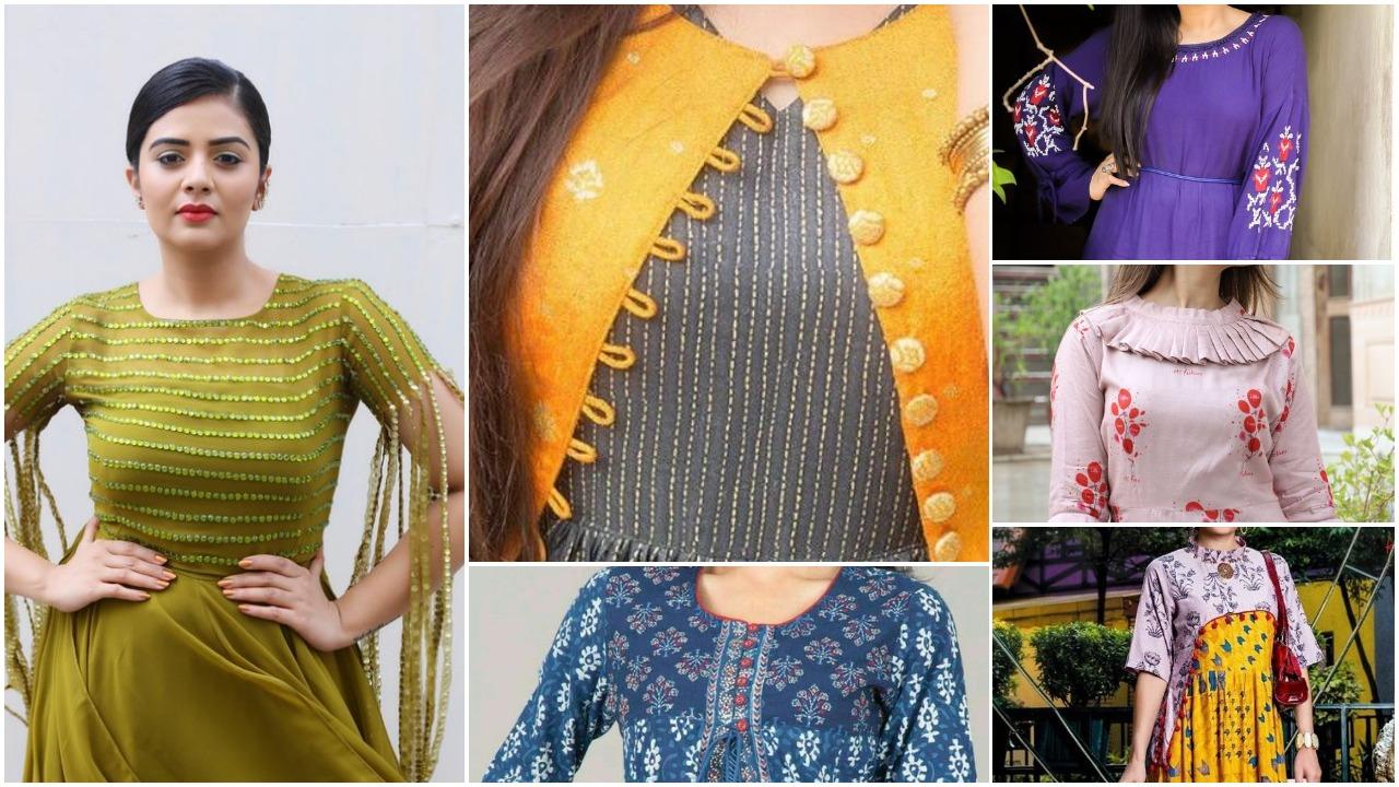 Latest designer kurtis for women