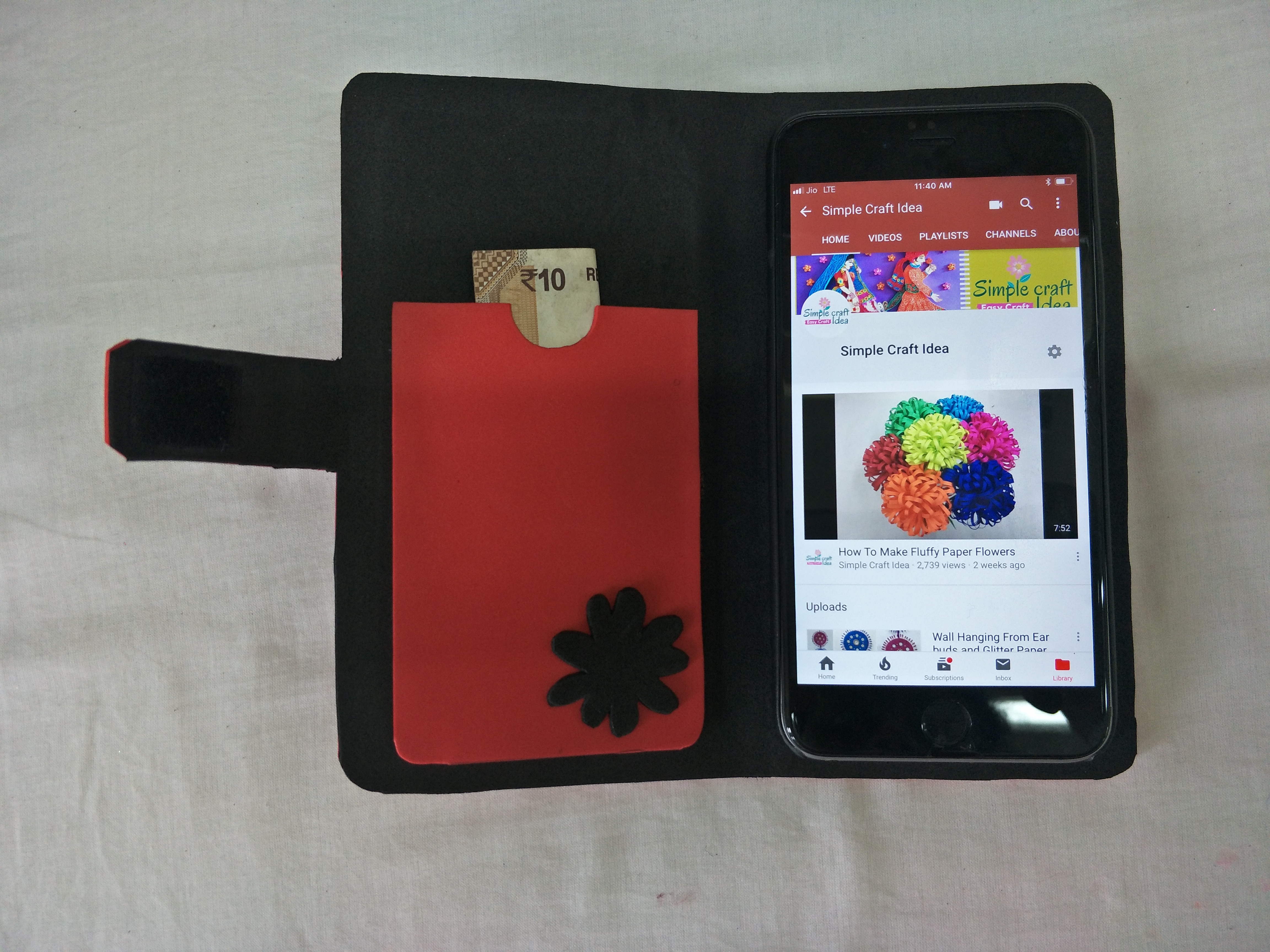 How To Make A Homemade Mobile Cover Simple Craft Ideas