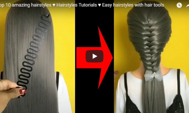 Easy hairstyles with hair tools
