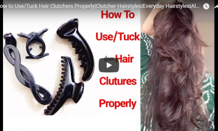 How to use tuck hair clutches properly