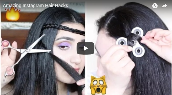 Amazing instagram hair hacks