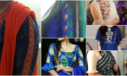 Latest sleeve designs to try with kurtis and blouse