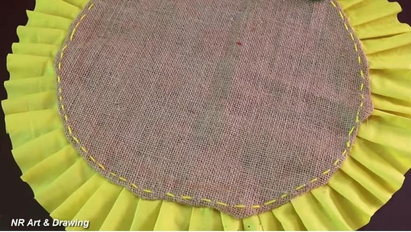 how to make doormat using woolen thread