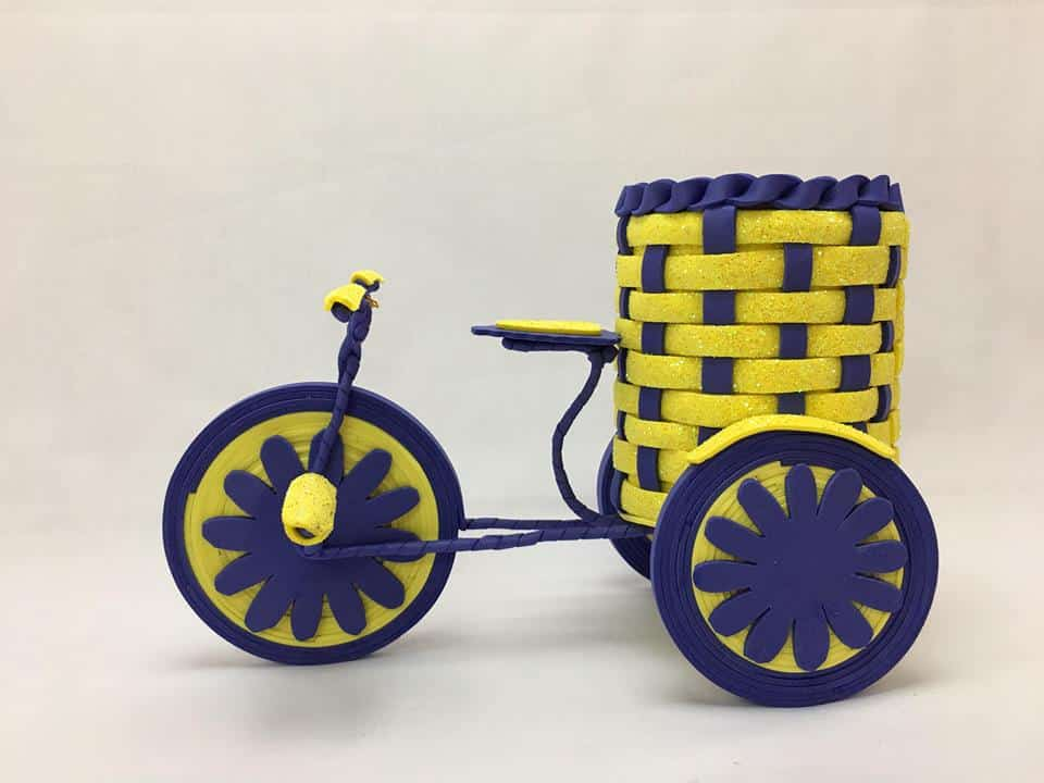 bicycle for flower pot holder