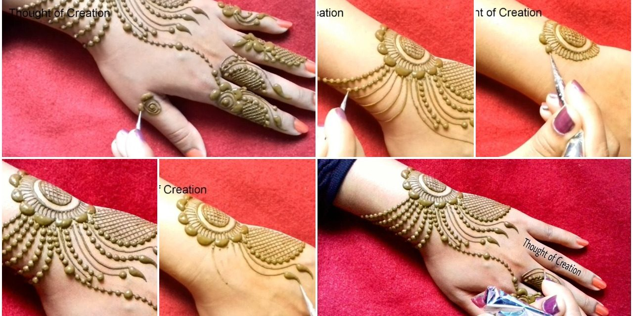Jewellery Mehndi Design Simple Craft Ideas