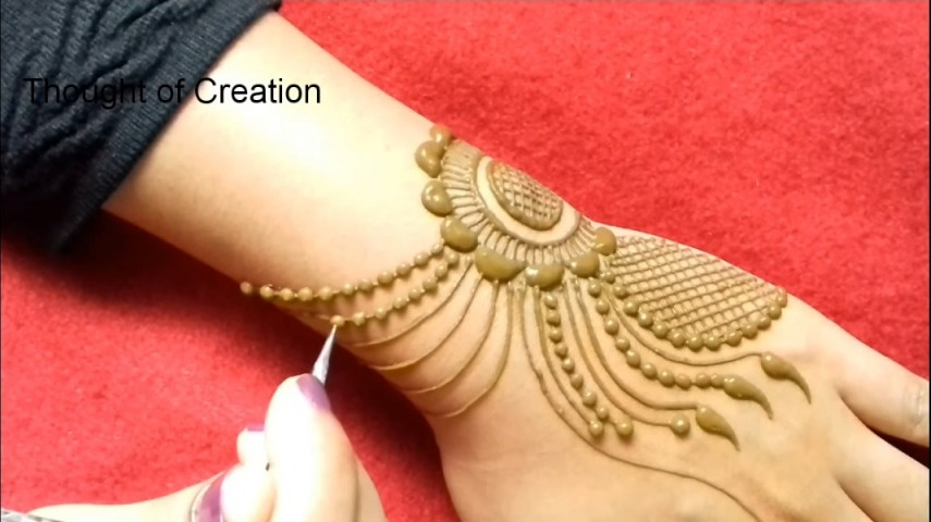 Jewellery Mehndi Design