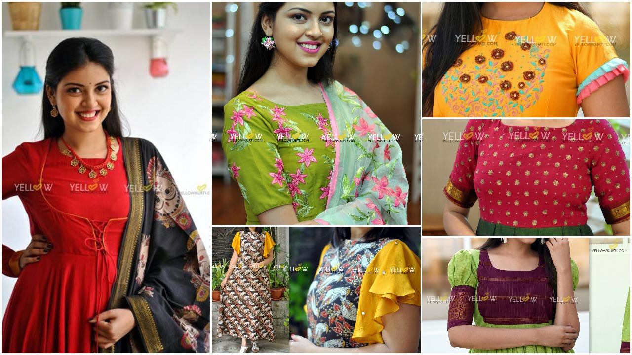 latest designs kurti pattern