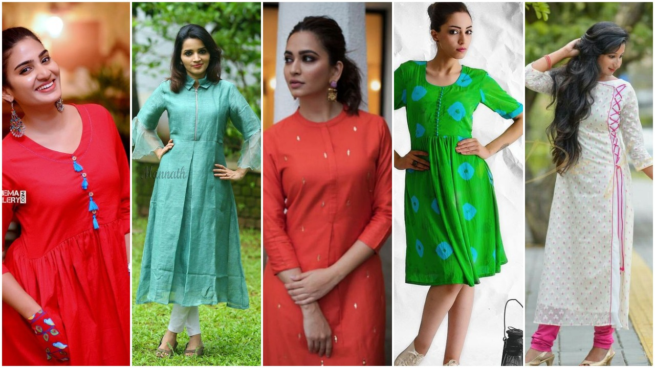 how to look trendy in kurti
