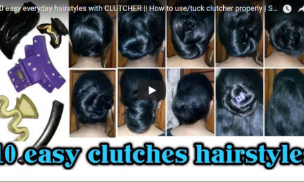 10 easy everyday hairstyles with clutcher
