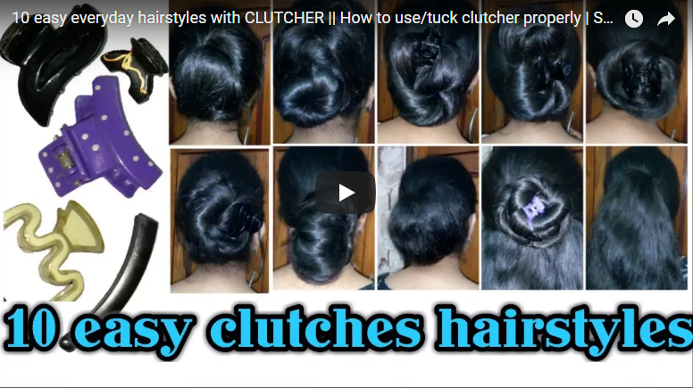 everyday hairstyles with clutcher