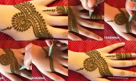 Stylish mehndi in 3 minutes