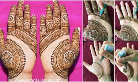 Latest beautiful mehendi design