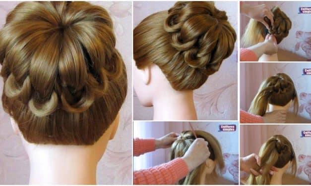 Braid hair style knots