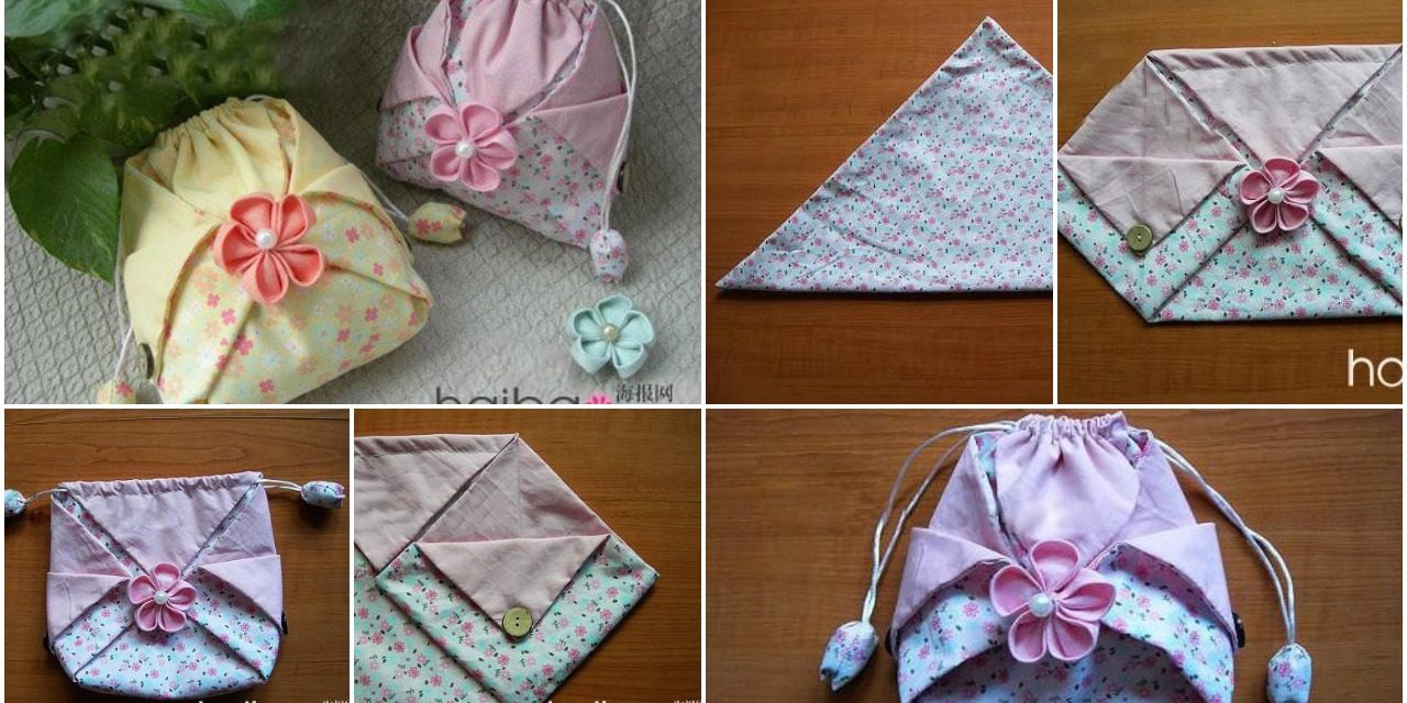 How to sew the original chinese bag