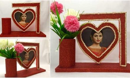 How to Make Awesome Photo Frame best Out Of waste material at home