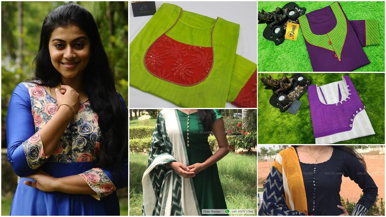 new kurti pattern