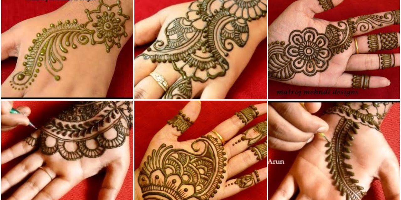 Easy Mehndi Design Patterns Simple Craft Ideas
