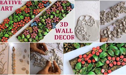 How to make 3D wall decor