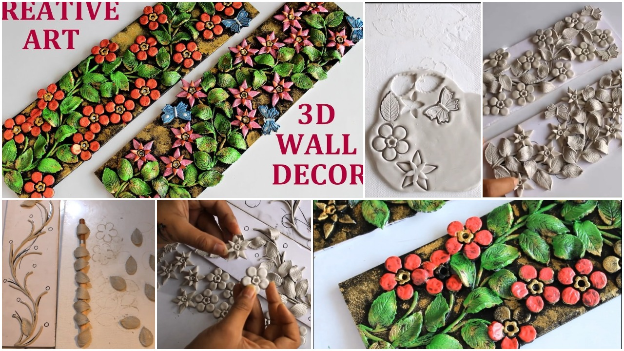 3D wall decor