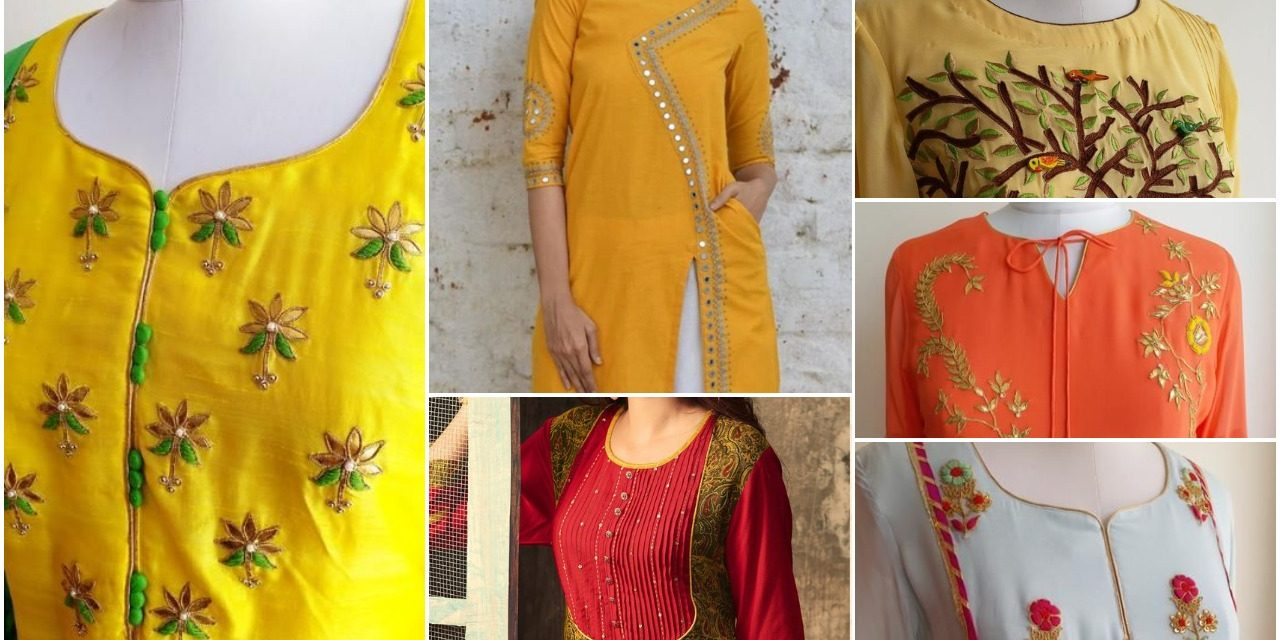 Latest fashion in kurtis design in India