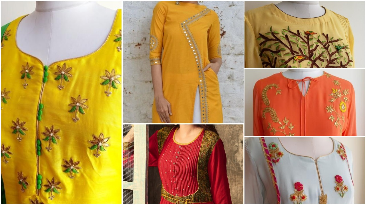 Latest fashion in kurtis
