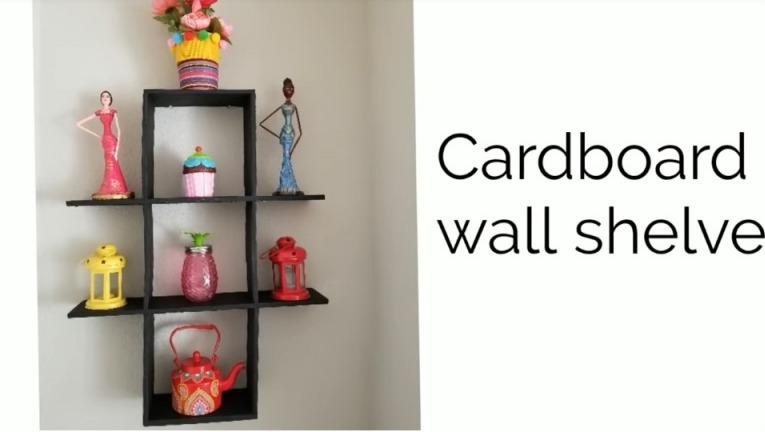 Cardboard Shelves
