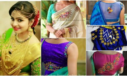 35 Designer work blouse neck designs to look trendy
