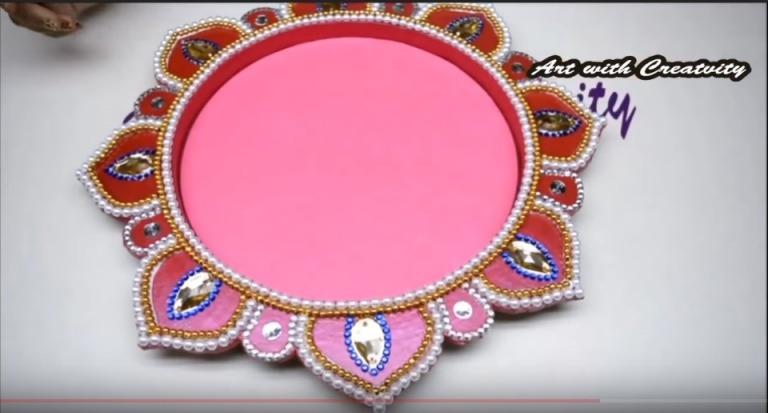 Decorated Thali