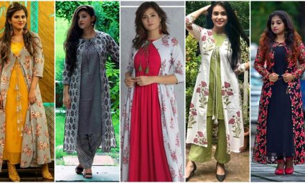 Different types of jacket salwar suits for serious fashion lovers