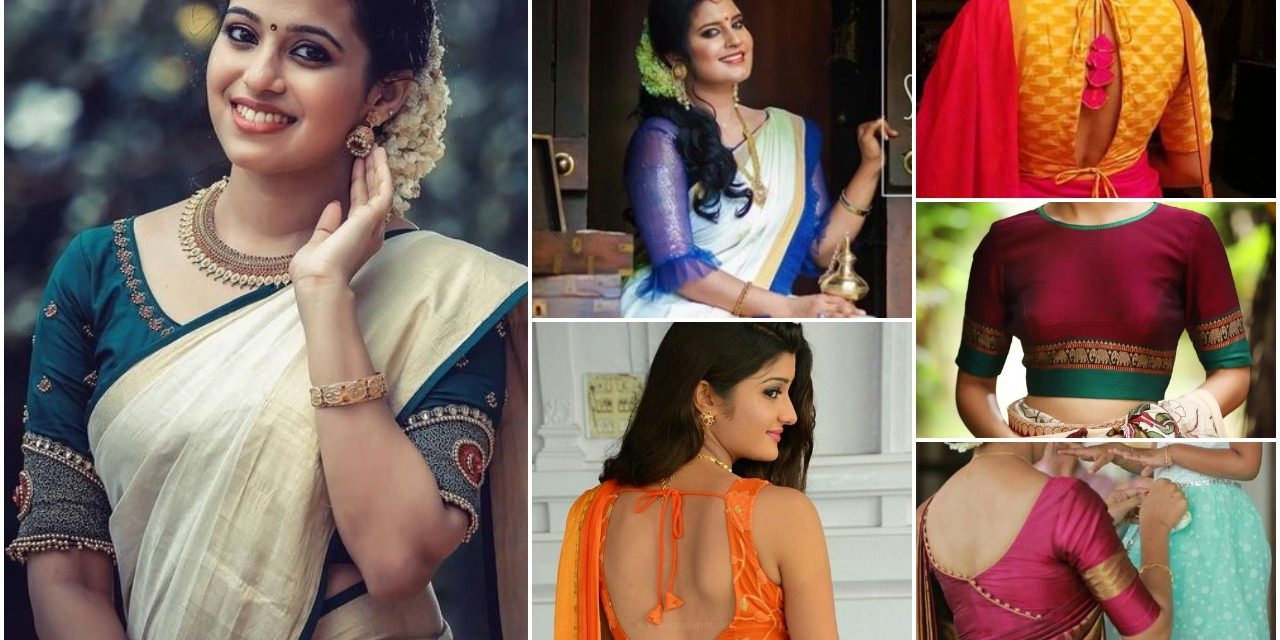 Types of saree blouse designs for every woman in 2018