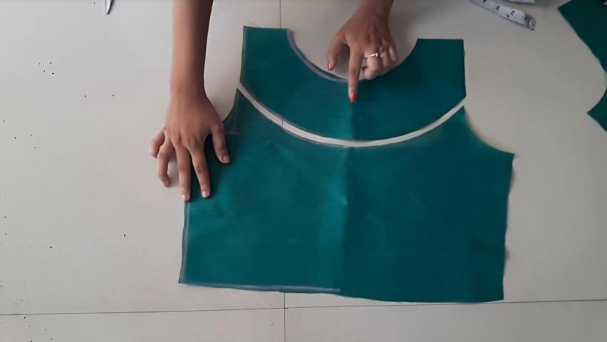 Blouse stitching