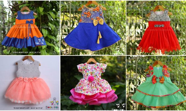 Awesome new frocks designs for girls