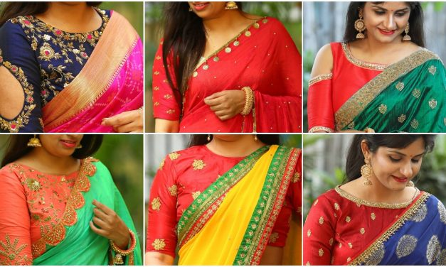Latest party wear blouse designs