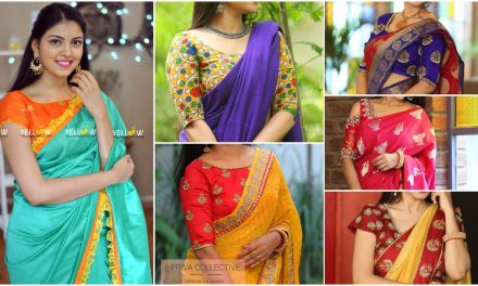 Blouse models for sarees