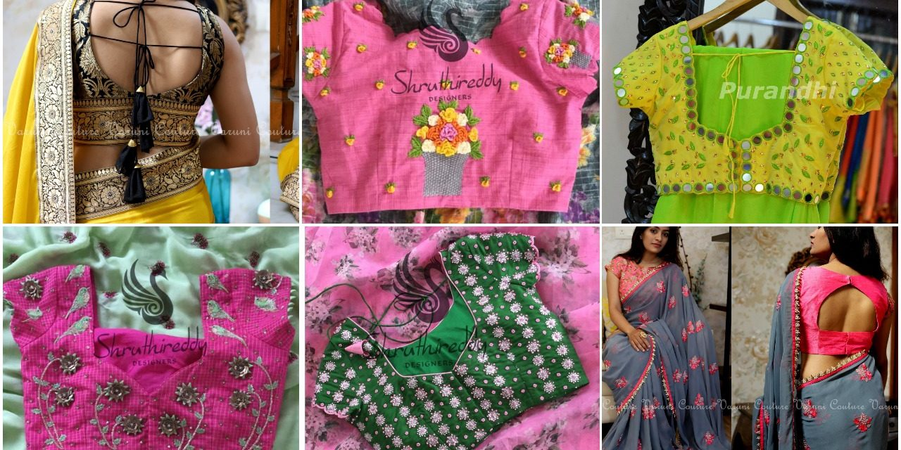 Designer readymade blouses for women
