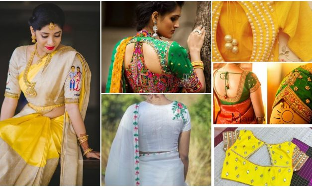 Elegant top best designer blouse designs for sarees