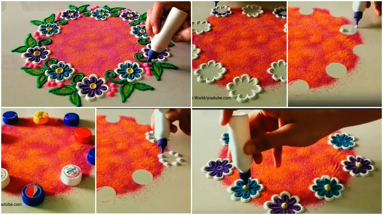 marathi rangoli designs with dots