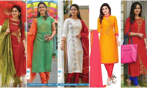 Party wear long kurti and embroidered kurtis