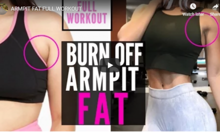 How to lose armpit fat