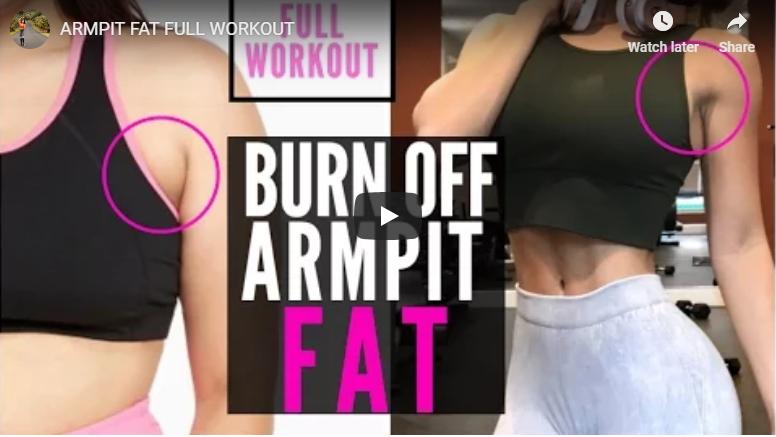 armpit fat
