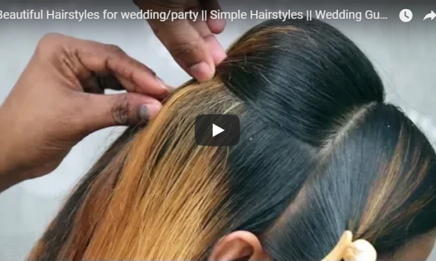 Beautiful hairstyles for wedding party