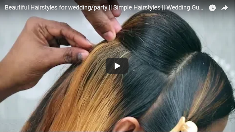Beautiful Hairstyles For Wedding Party Simple Craft Ideas
