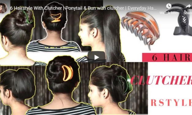 6 Hairstyle with clutcher