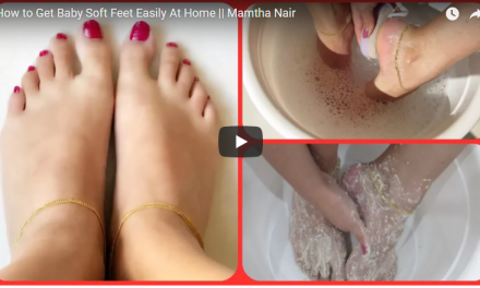 How to get baby soft feet easily at home