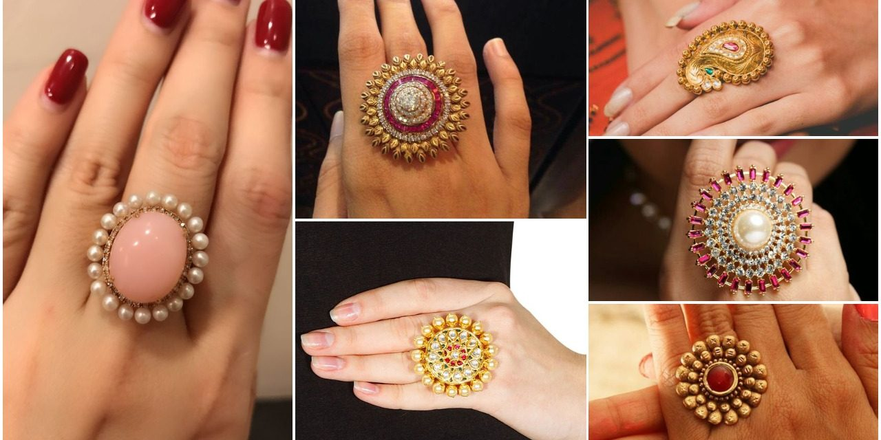 Big size gold finger rings designs