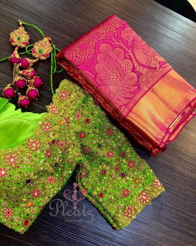 readymade saree blouses stretchable